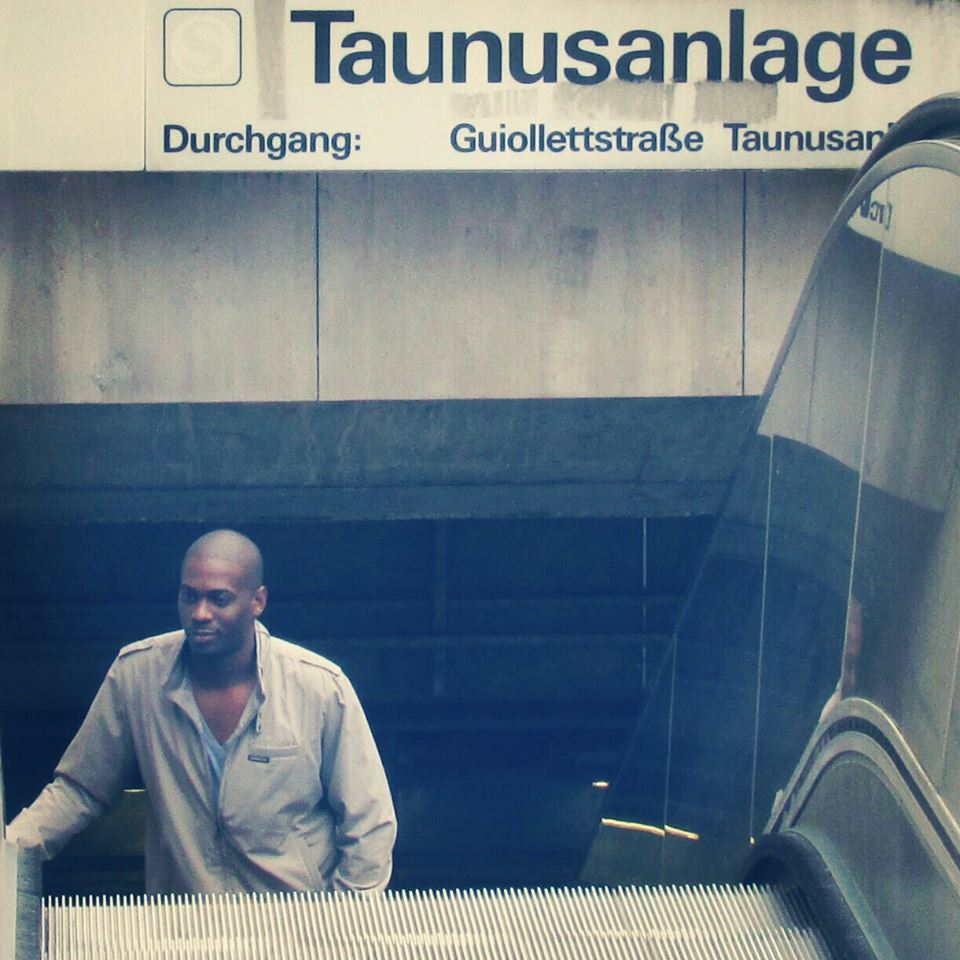 Mark Larush in Frankfurt.