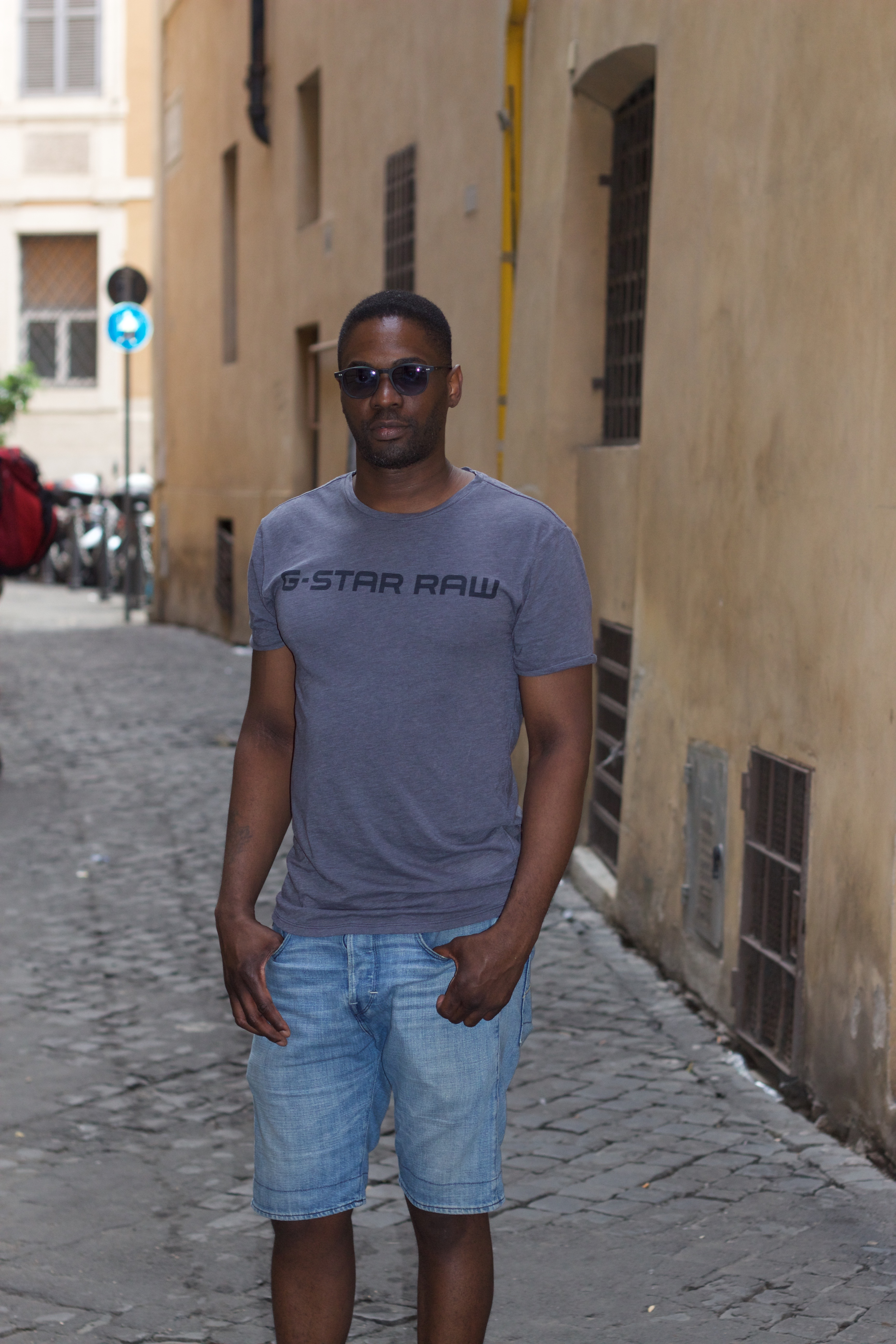 Mark Larush Had A Photo Shoot In Rome